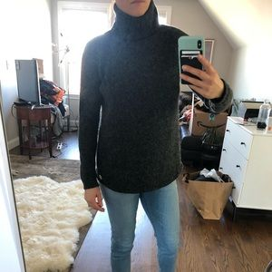 Michael Kors turtleneck sweater Small black /gray